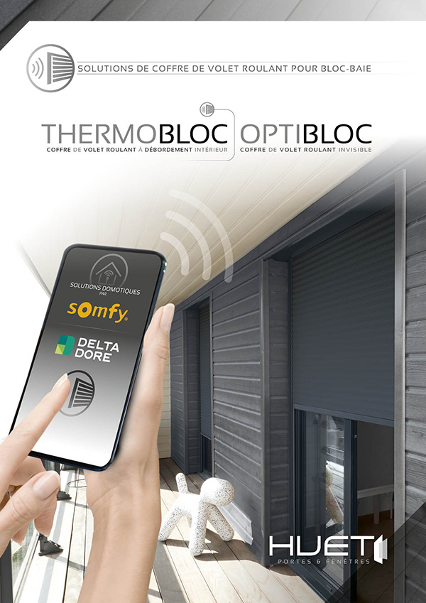 Thermobloc Optibloc SOMFY DELTA DORE