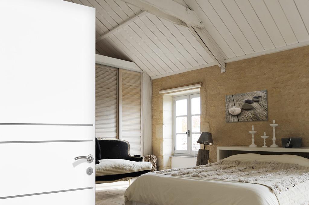 huet bp confort ame pleine inserts finition aluminium. Black Bedroom Furniture Sets. Home Design Ideas