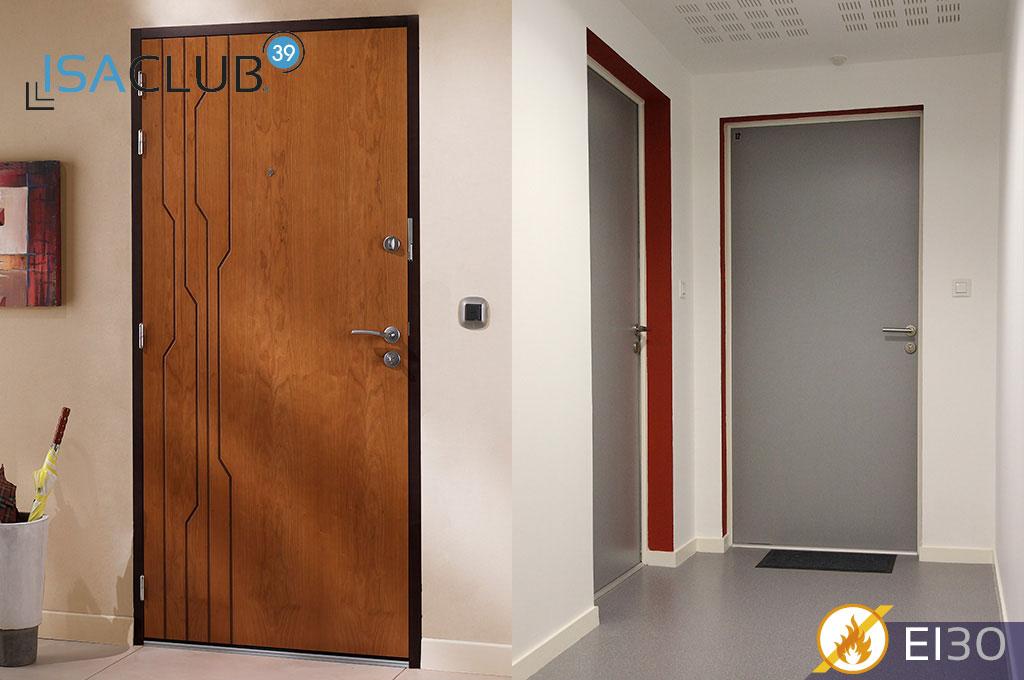 HUET BP Isaclub - Porte palière 3 points