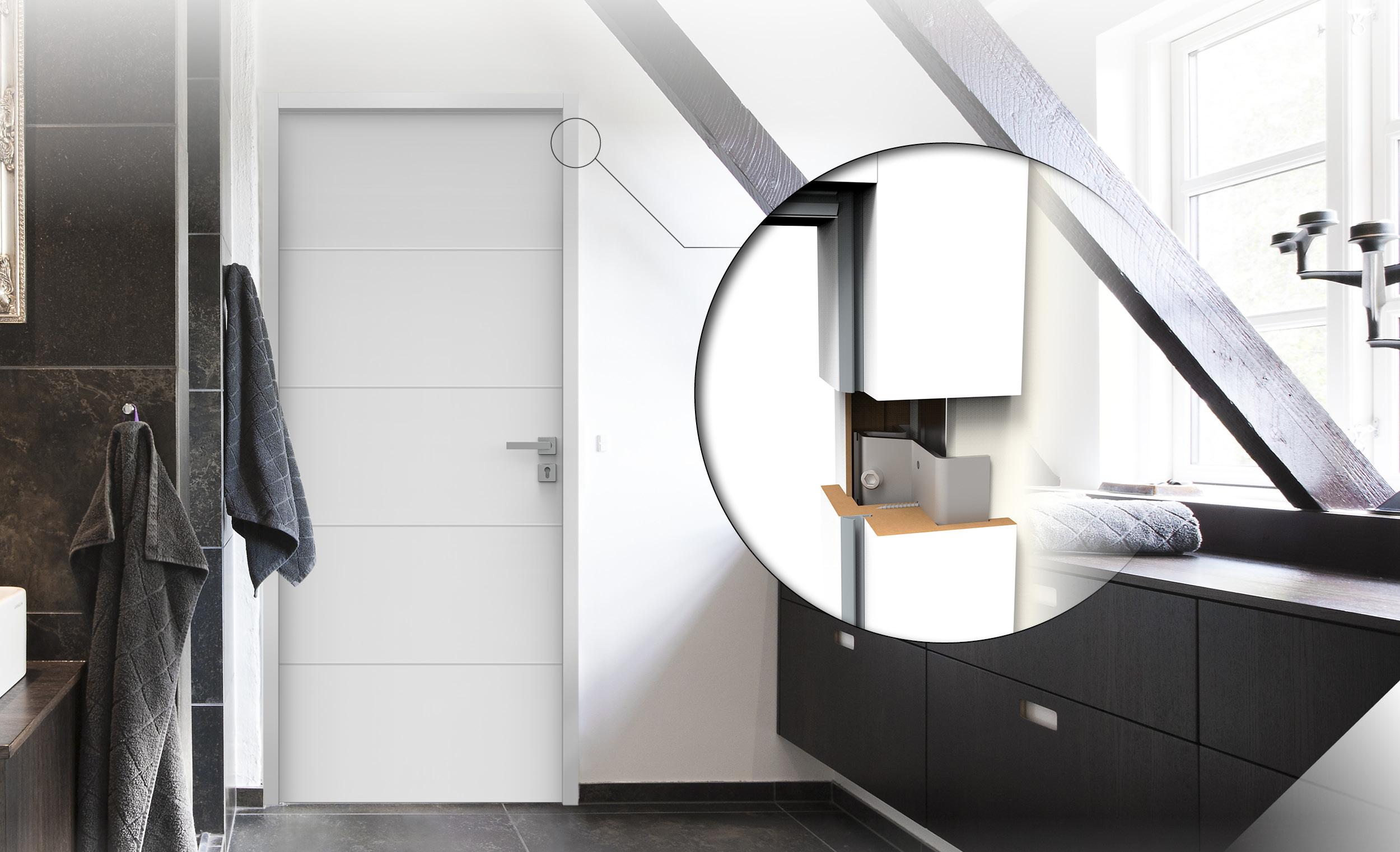 Huisserie H3 : pour une pose facile, rapide et une finition parfaite des portes de communication