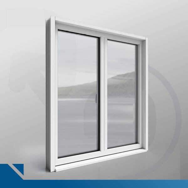 Fenêtre STYLIUM - 2 vantaux (Objet BIM)