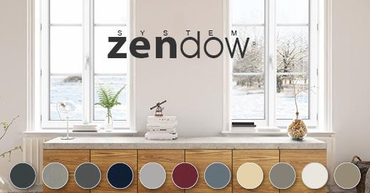 ZENDOW, la référence haute en couleur de la menuiserie PVC chez HUET