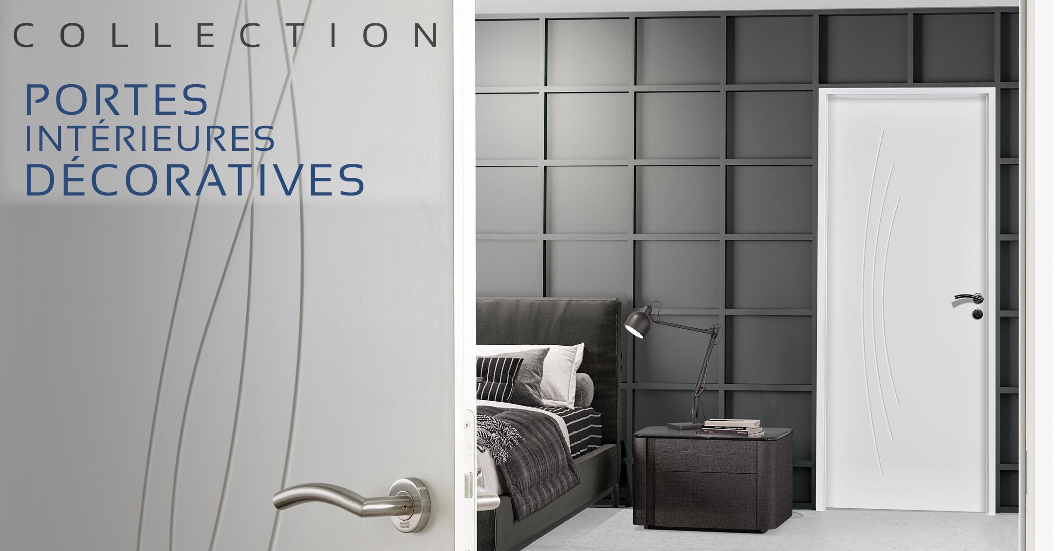 Portes intérieures décoratives HUET : nouvelle collection 2021